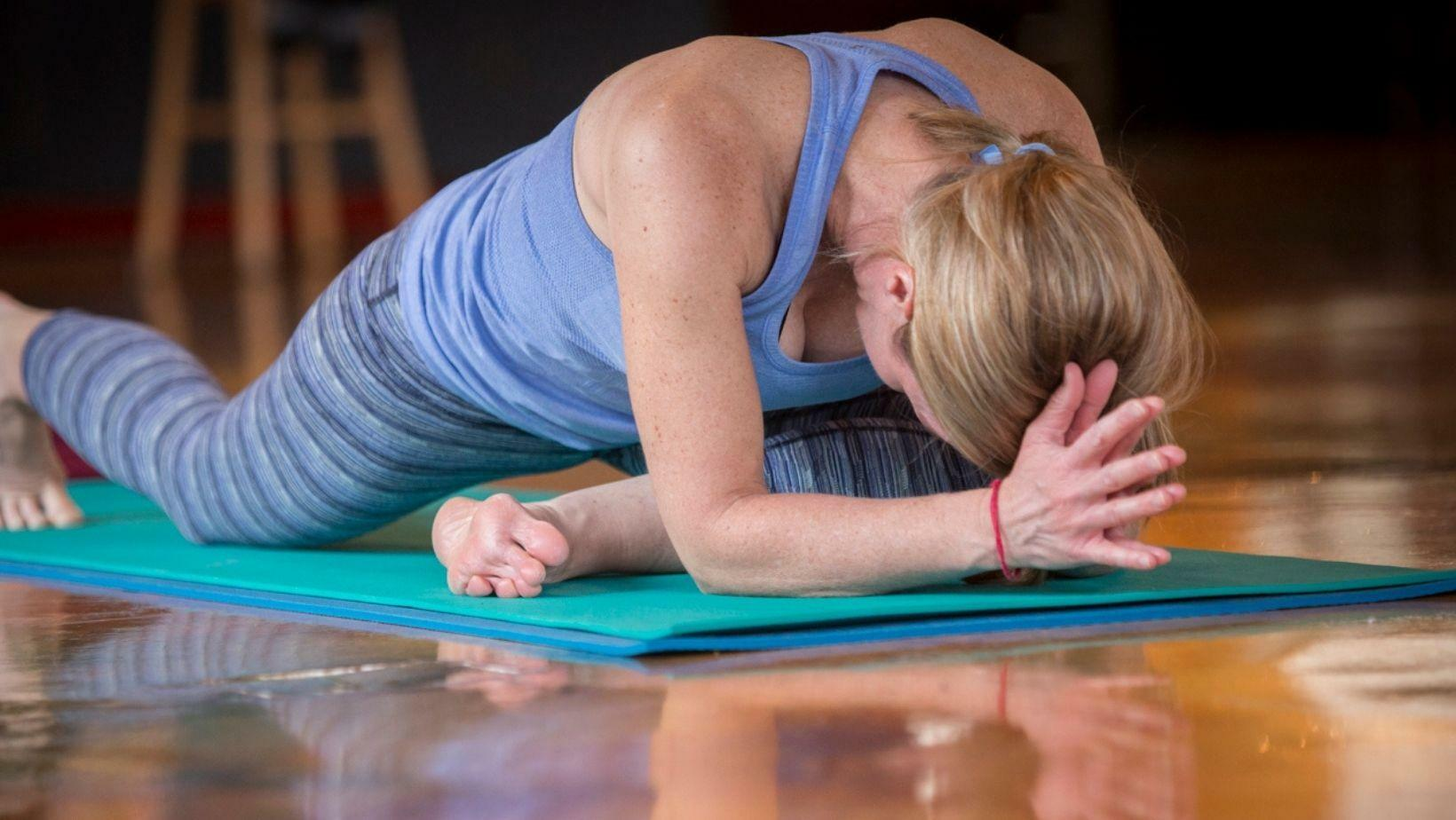 Zoom yoga with tiff